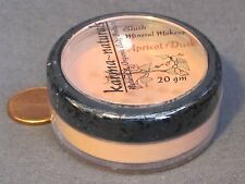 APRICOT DUSK - Pale Peach Gold BLUSH Loose Mineral Makeup Natural - 20 gm jar