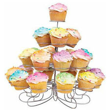 Cup Cake Stand 4 Tier Wedding Round Birthday Display Party Tower Dessert Holder