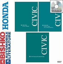 2001 2002 Honda Civic Shop Service Repair Manual CD Engine Drivetrain Electrical