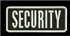 security embroidery Patches 2x5 Velcro ON BACK