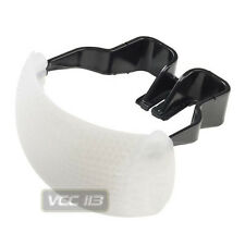 White Color Puffer Pop-Up Flash Soft Diffuser Dome For Canon Nikon Pentax DSLR