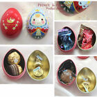 Mini Prince Jewelry Box Easter Egg Organizer Metal Candy Tin Box Kids Party Gift