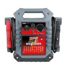 KS TOOLS 550.1720 Batterie Booster, mobiles Starthilfegerät 12/24 V, 1400-700 A