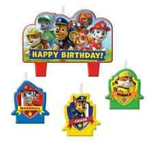 Paw Patrol Birthday Party Cake Candles Set Of 4