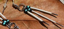 Tri Quills Porcupine Quill Earrings Native Mikmaq