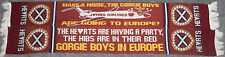 HEART OF MIDLOTHAIN FC GORGIE BOYS ARE GOING TO EUROPE SCARF