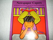 Teaching Resource:Newspaper Capers Grades4,5,6-reading,point of view,classifieds