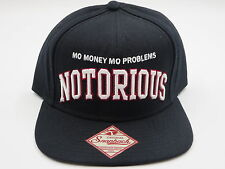 Biggie Notorious BIG Retro Vintage Bad Boy Throwback Skate Snapback Hat Cap