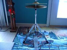 Cymbal set Foot pedal & Stand,Enforcer pedal, Complete ready to go Drums highhat