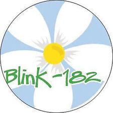 BLINK 182 1-inch BADGE Button Pin Daisy Logo NEW OFFICIAL MERCHANDISE
