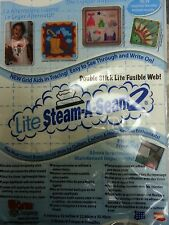 "LITE STEAM-A-SEAM 2 ~ double stick liteFUSIBLE WEB ~ 9"" X 12"", 5 sheets/pk #5417"