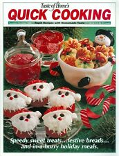 2000 Taste of Home's Quick Cooking Magazine: Speedy Sweet Treats/Holiday Meals