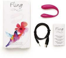WE-VIBE® Fling - Raspberry Color intimate massager for couples