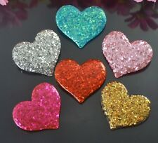 Wholesale lot  30pcs  heart  Flatback Resin Cabochon Scrapbooking  Valentine