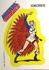 Masters OF THE UNIVERSE/He-Man-Sticker-Sorceress - 1984