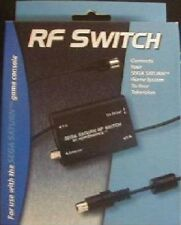 NEW FOR SEGA SATURN SYSTEM IN BOX AUTO RF RFU CABLE TV ADAPTER CORD  PERFORMANCE