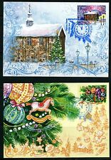 2015 Belarus Happy New Year! Merry Christmas! Maximum cards