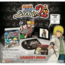 Naruto Shippuden: Ultimate Ninja Storm 2 Collector's Edition [PlayStation 3] NEW