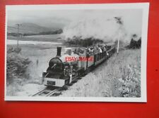 POSTCARD LOCO NORTHERN ROCK - ESKDALE RAILWAY CUMBRIA 1976