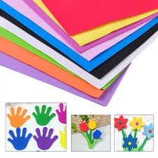 10Pcs DIY Foam Sheets A4 Handmade Paper Fun Funky Children Kids Hand Craft