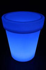 Bac à fleurs LED changement de couleur 68cm Pots lumineux Lampe batterie FB