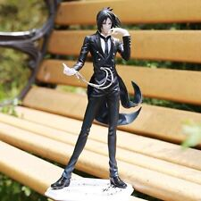 Anime Black Butler Kuroshitsuji Book of Circus Sebastian Action Figure 8""