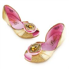 Disney Store Belle Beauty & the Beast Girls Dress Up Costume Shoes Size 2/3 NEW