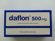 DAFLON 500 :  3 scatole da 60. compresse  DAFLON 500 mg------180   compresse---