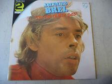 """JACQUES BREL""""NE ME QUITTE PAS- Disco 33 giri DOUBLE Philips Fr.1973"""""""