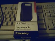 Blackberry Bold 9790 Negro Soft Shell Funda protectora acc-41835-101 Nuevo Stock