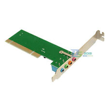 4 Channel Speaker Surround 3D PCI Sound Audio Card For PC Windows7 XP Desktop