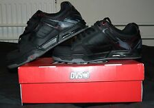 DVS Enduro Heir Skate Shoes - Black Leather Size UK 9 EUR 42.5