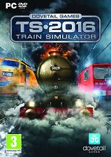 Train SIMULATOR 2016 (PC DVD NUOVO E SIGILLATO
