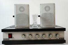 Bouyer as 35-b 100 Volt tecnologia amplificatore amplifier con 2 BOX 30w ricontrollato