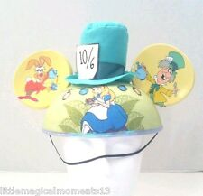 DISNEY PARKS ALICE IN WONDERLAND MAD HATTER HAT