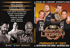 Official ROH Ring of Honor - Undisputed Legacy 2017 Event DVD