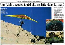 Coupure de presse Clipping 1990 (4 pages) Alain Jacques