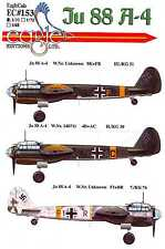 EagleCals Decals 1/32 JUNKERS Ju-88A-4 German Bomber