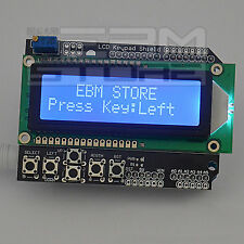 Display Shield LCD 16x2 per ARDUINO + tastiera - ART. CR01