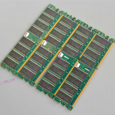 Hynix 4GB 4x1GB PC3200 DDR400 Low Density 400Mhz Memory Ram Dimm desktop 184PINS