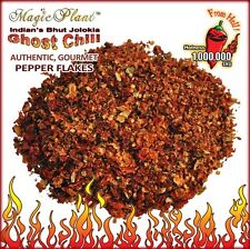 Crushed Bhut Jolokia Pepper Flakes  / Dried Ghost Pepper  1lb