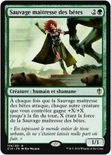 MTG Magic C16 - Wild Beastmaster/Sauvage maîtresse des bêtes, French/VF