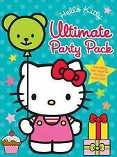 NEW HELLO KITTY  ULTIMATE PARTY PACK   INVITATIONS Stickers ALBUM planner book
