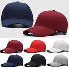 Blank Men Baseball Cap Plain Bboy Women Visor Snapback Hats Hip-Hop Adjustable