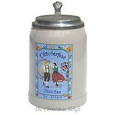 The Official Munich Oktoberfest Collectors' Beer Stein 2011 - 0.5 Liter with Lid
