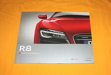 Audi R8 2012 (English) Prospekt Brochure Depliant Catalogue Prospetto Prospecto