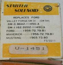 1956-81 Ford Starter Solenoid 12v