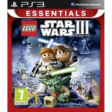 Lego Star Wars III Clone Wars (Essentials) Game PS3 Brand New