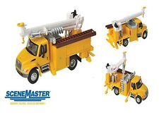Walthers 949-11732 HO International 4300 Utility Truck w/Drill Assembled