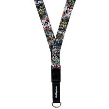 Disney Parks Graffiti Mickey and Friends PIns Lanyard Goofy Pin Trading